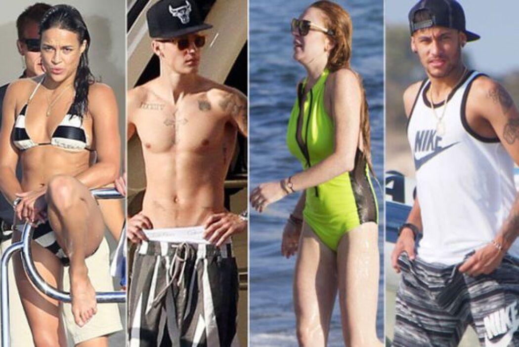 Las playas de Ibiza se han vuelto el lugar más atractivo para las celebr...