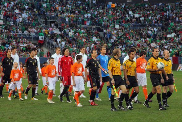 México jugó su último amistoso frente a Nueva Zelan...