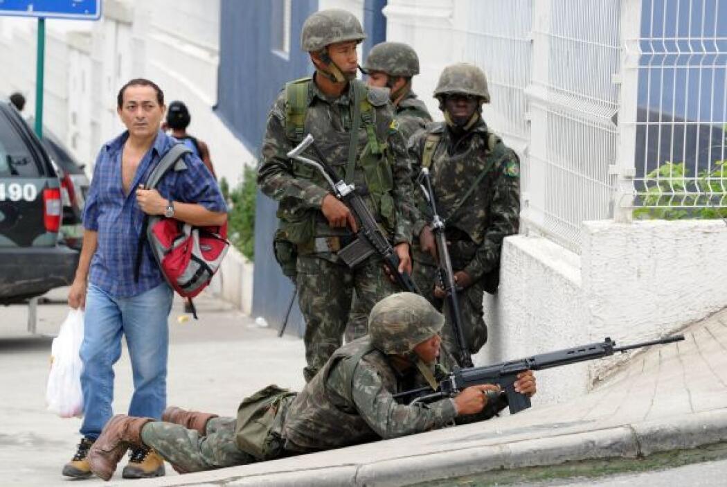 Brasil vuelve a la situación del pasado donde nadie podía entrar en las...