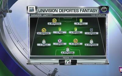 Edgar Martínez nos trae el ganador del UD Fantasy de la Fecha 17