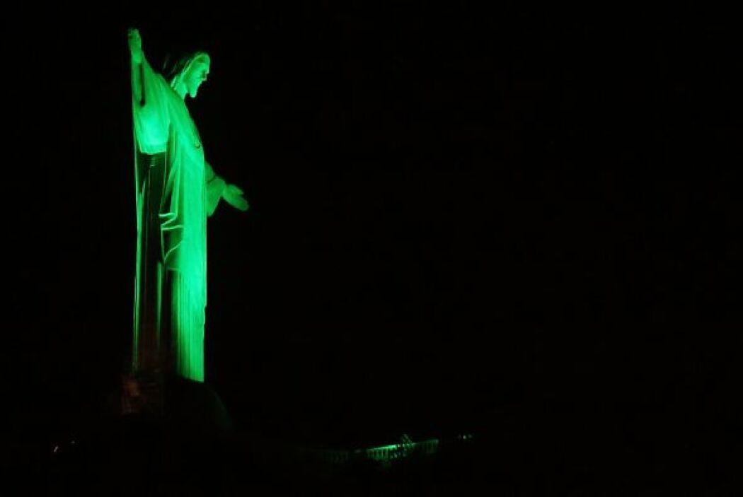 El Cristo Redentor en Río de Janeiro.