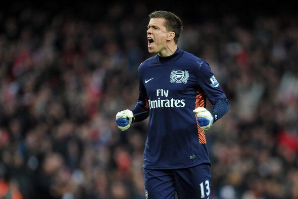 Wojciech Szczesny del Arsenal. El cancerbero polaco es una de las garant...