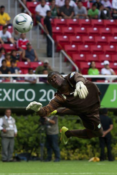 En el Mundial Sub-17 se ven grandes atajadas por parte de los porteros a...