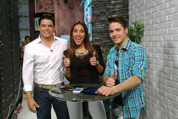 Orlando Segura y William Valdés le dieron la bienvenida a la nueva repor...