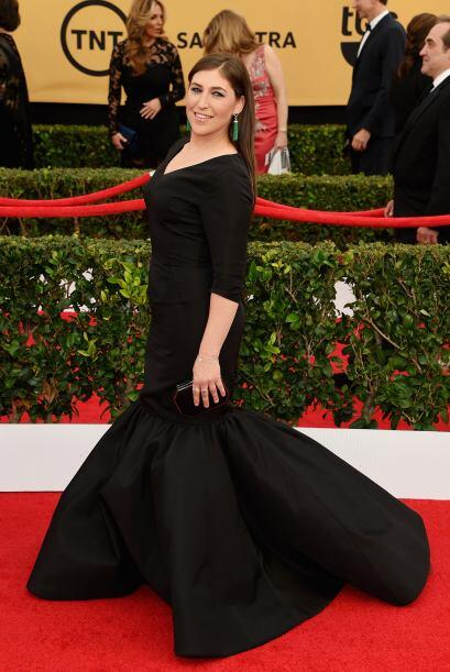 Mayim Bialik, muy divertida en 'The Big Bang Theory'.