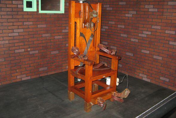 También se usó la silla eléctrica, como la famosa 'Old Sparky' en la not...