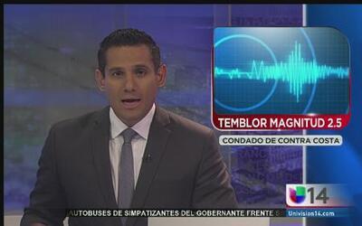 Temblor en Contra Costa