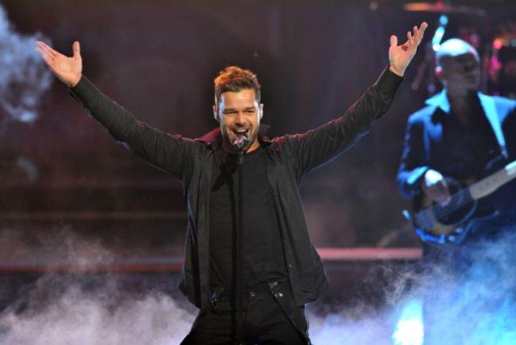 Ricky Martin recibira premio el próximo 3 de junio en Nueva York.