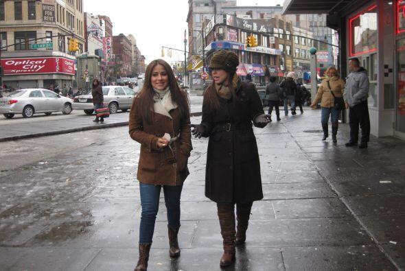 Nuestra afiliada Noticias Univision en Nueva York acompañó a Jackie Guer...