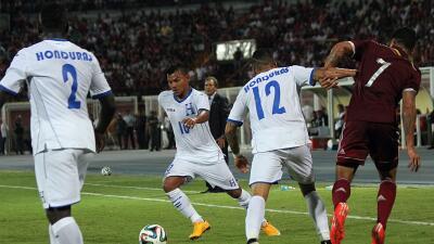 Venezuela 0-3 Honduras