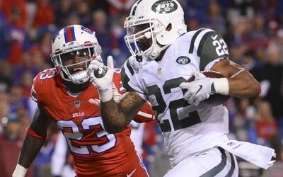 Los Jets se impusieron 37-31 a Bills con tres TDs de Matt Forte