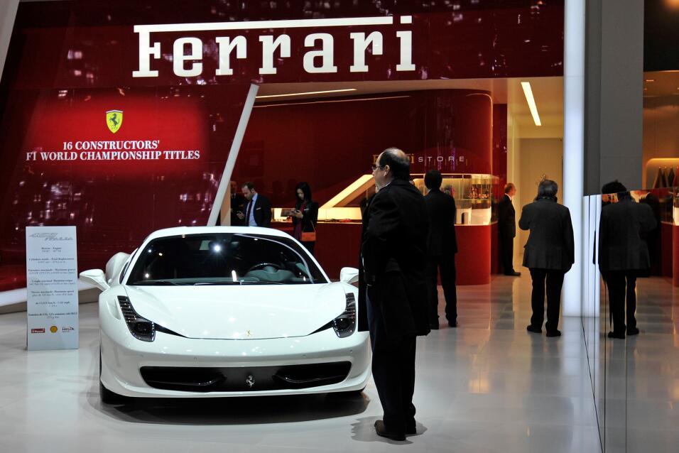 Este Ferrari 458 es el modelo que representa a la marca italiana en el m...