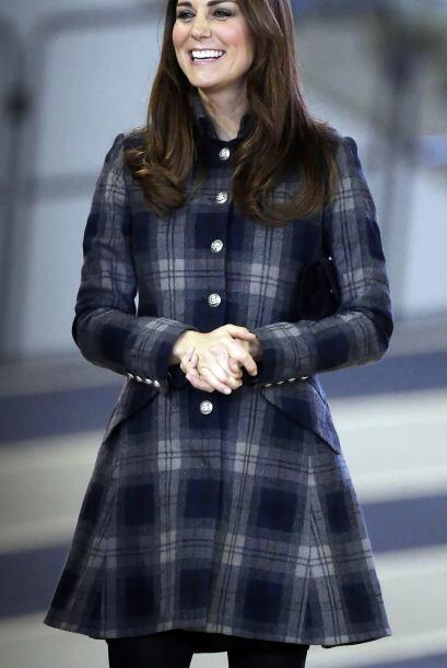 Kate Middleton también es una fanática de este 'print' y lo demuestra po...