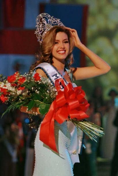 Venezuela volvió a ganar el concurso con Alicia Machado en 1996. Ha teni...