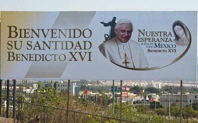 Comenzó la cuenta regresiva para la visita del Papa Benedicto XVI a Guan...