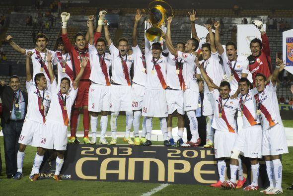 Morelia solamente ha conseguido un campeonato, el cual fue conseguido en...
