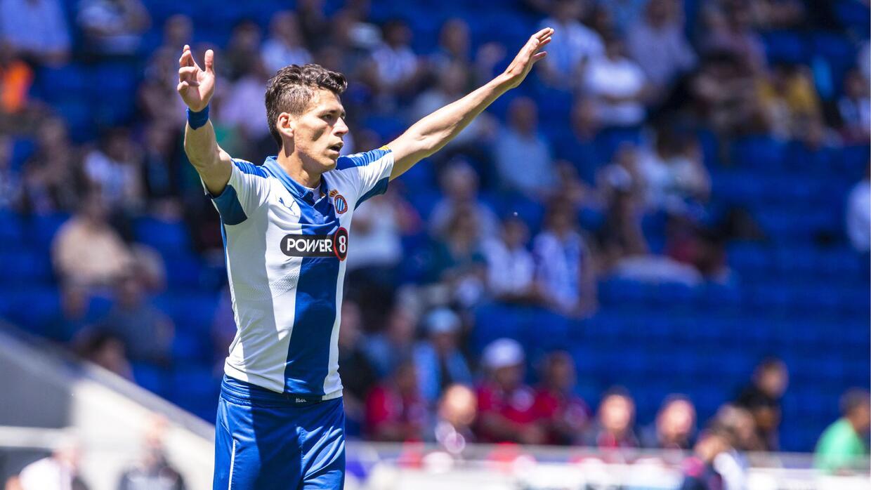 Héctor Moreno reapareció con el Espanyol