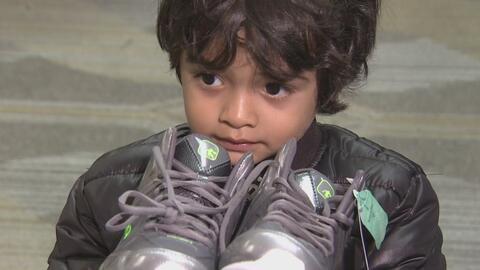 'Pasitos con esperanza', la campaña para donar zapatos y calcetines que...
