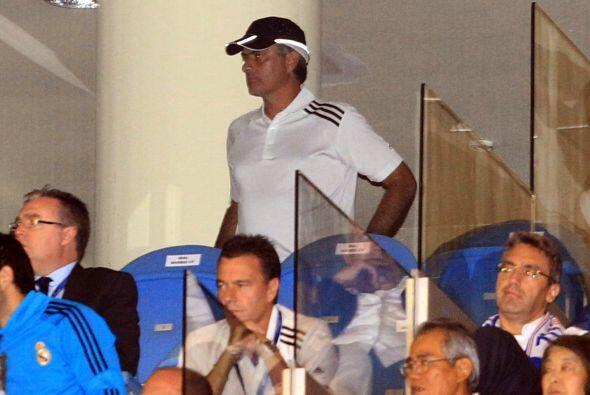 José Mourinho tuvo que estar en un palco ya que tiene una sanci&o...