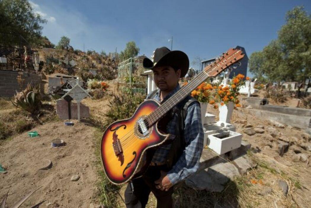 La música como en cualquier fiesta mexicana, no puede faltar.