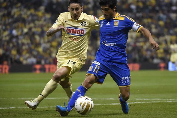 A diferencia del juego de Ida, Damián Álvarez fue incapaz de generar pel...