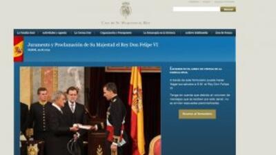 La Casa Real actualizó su web con información de la nueva Familia Real.