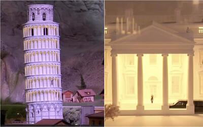 La Torre de Pisa y la Casa Blanca en un solo lugar: conoce la exposición...