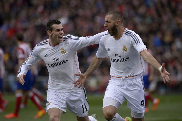 El '9' blanco ponía en ventaja al Madrid, como si se fuera a vivir otro...