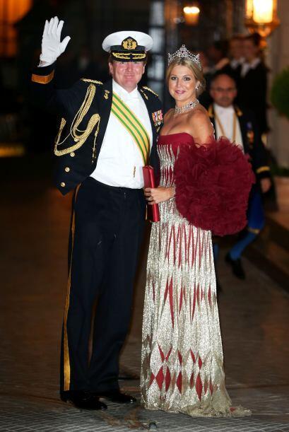 Guillermo Alejandro de Holanda, príncipe de Orange-Nassau y primo...