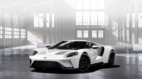 Ford GT 2017 en Frozen White