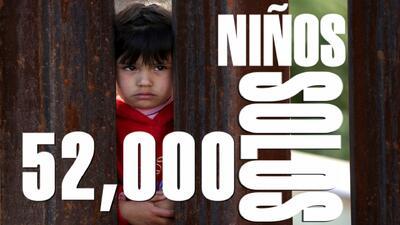 En números: la crisis de los niños migrantes en la frontera