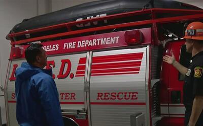 Rescatistas se preparan para responder ante emergencias que deje la torm...