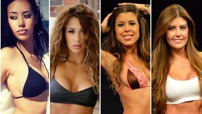 De izquierda a derecha :Susana Rondón (Miss Chile),Marcela Aristizábal...