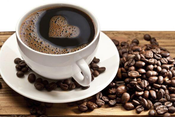 Una buena taza de café americano y express Un buen café expreso como los...