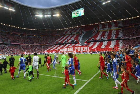 El Bayer de Múnich y el Chelsea salieron a jugar la final de la C...