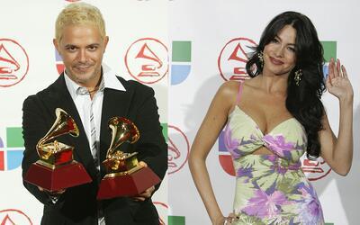 Alejandro Sanz y Sofia Vergara