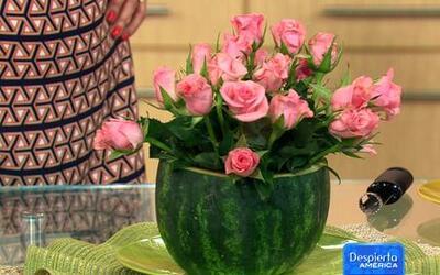 Cómo combinar frutas y flores para decorar tu hogar