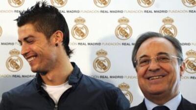 El presidente del cuadro 'merengue' desea ver a Cristiano en el club has...