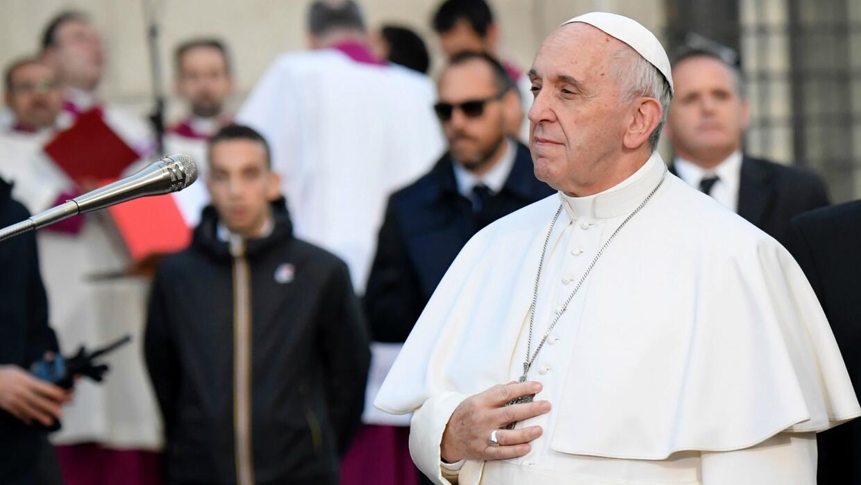 El Papa Francisco pide protección para todos los niños migrantes
