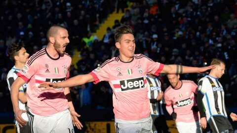 Dybala y Juventus golean y son segundos