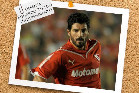 El 'interminable' Eduardo Tuzzio es el eje de Independiente.