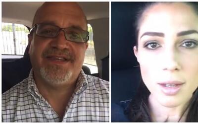 Rafael Bernabe y Alexandra Lúgaro hicieron sendos Facebook Lives...