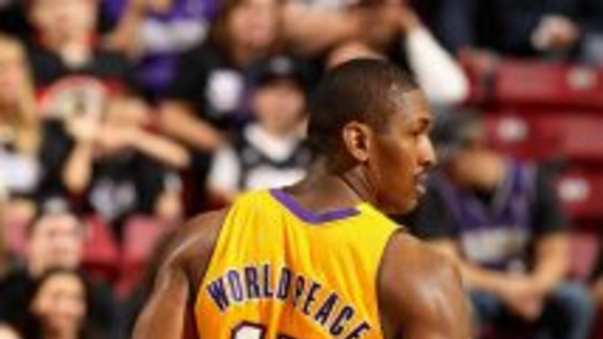 Metta World Peace se llamaría Panda Friend.