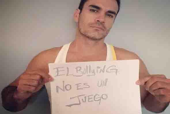 El actor mexicano David Zepeda. Foto tomada de Twitter.