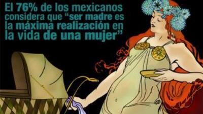 En México el Día de las Madres es un festejo en todo su esplendor. Fotog...