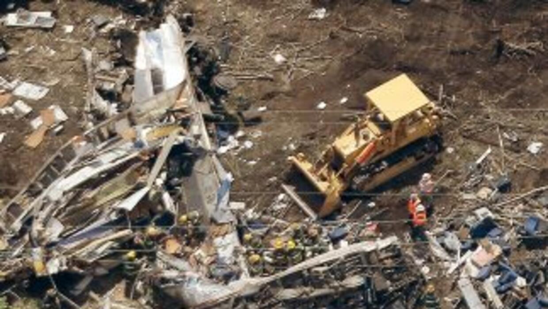 Vista aérea del lugar donde descarriló el tren de Amtrak el martes al no...