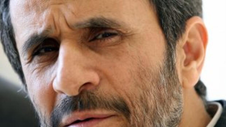 El presidente de Irán, Mahmud Ahmadinejad, denunció que el presidente de...