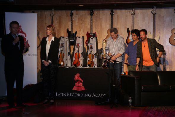 Además de esta convivencia, LARAS hizo una donación en instrumentos musi...