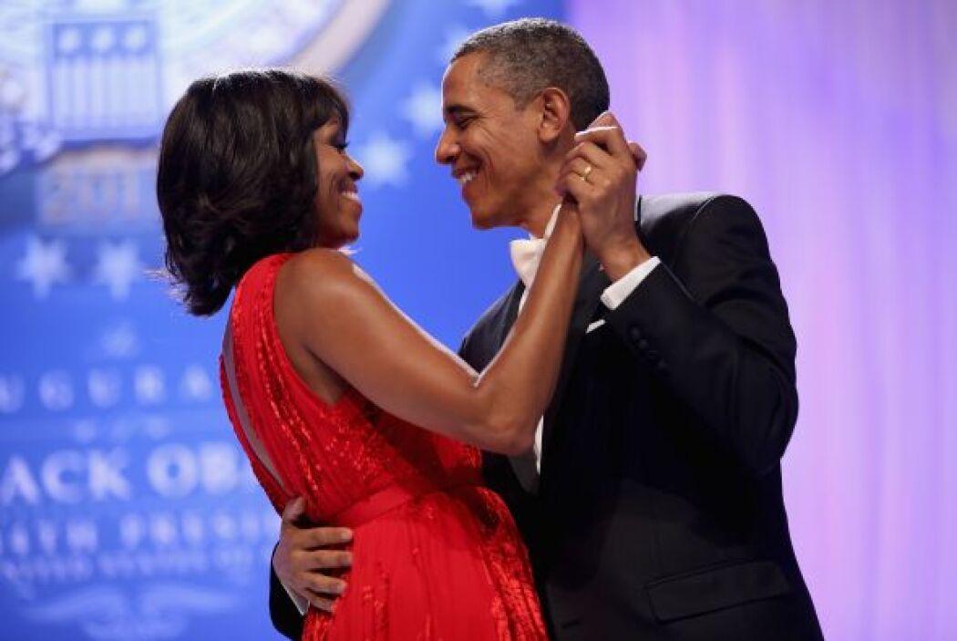 El baile inaugural en el Centro de Convenciones de Washington, culminó c...