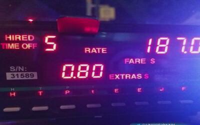 Arrestan a 12 taxistas de Nueva York acusados de fraude a pasajeros con...